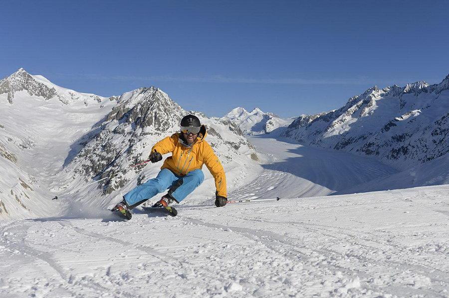 Weitläufiges Skigebiet
