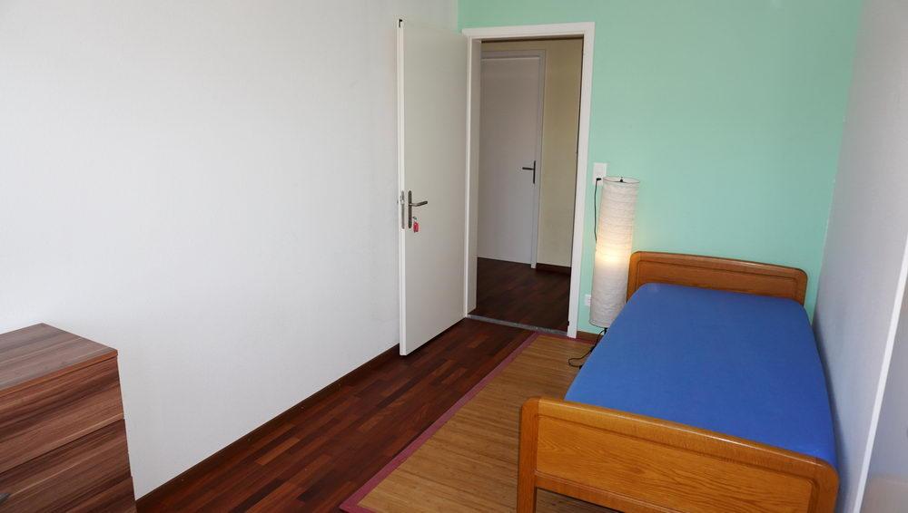 Zimmer 2, Sicht zu Gang