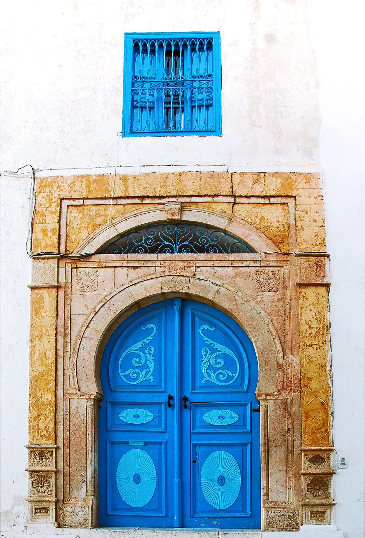 Türen von Sidi Bou  Said