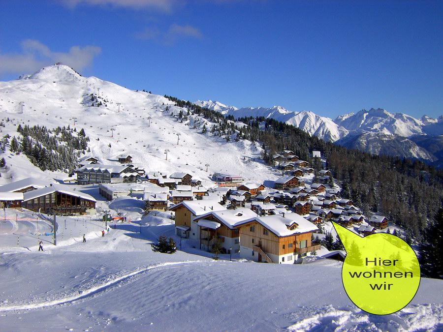 Bettmeralp, Lage Chalet Alpenrose