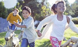 happy kids, children playing