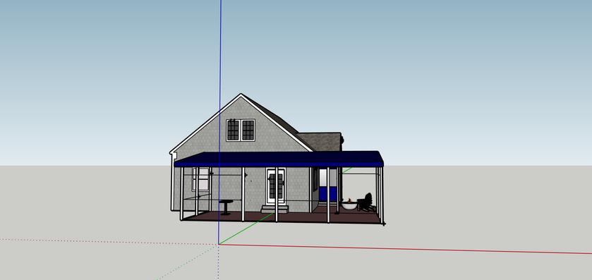 Google Sketchup concept rendering