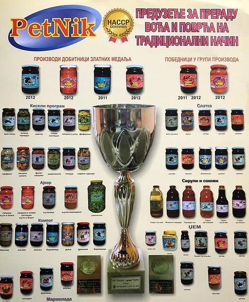 Nagrađivani proizvodi