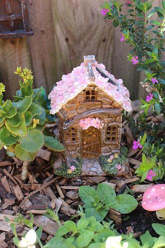Solar Fairy Flower Cottage