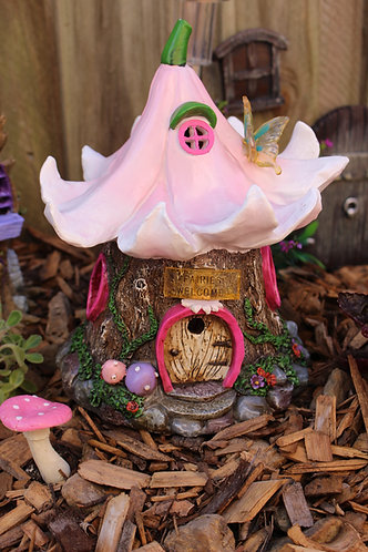 Solar Fairy Flower House