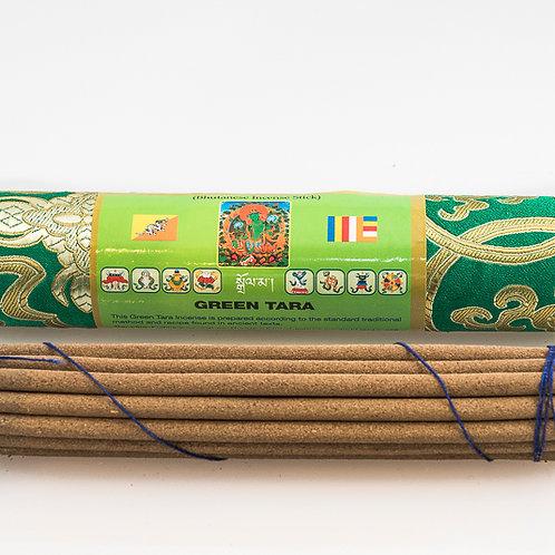 Bhutanese Green Tara Incense: long