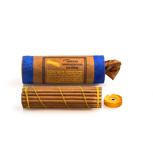 Tibetan Sandalwood Incense: A