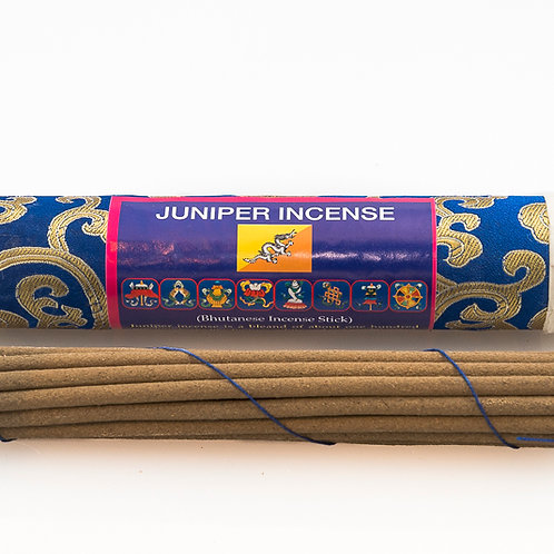 Bhutanese Juniper Incense: long