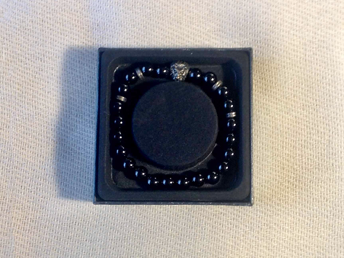 Bali Bracelet: Onyx