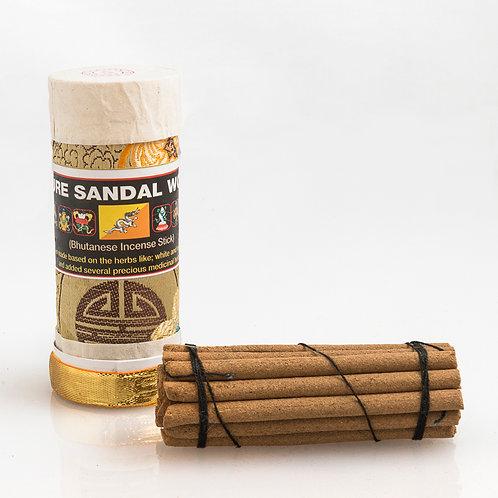Bhutanese Sandalwood Incense: small