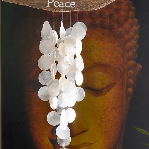 """Seashell chimes: """"Peace"""""""