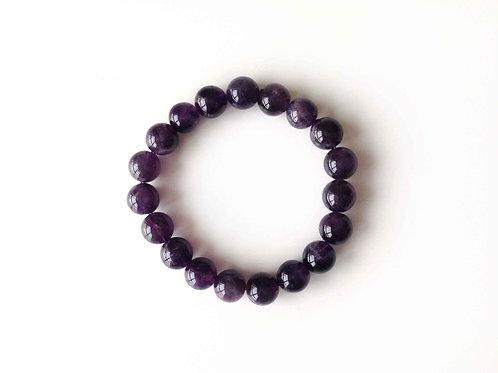 Bracelet-mala (amethyste/ amethyst)