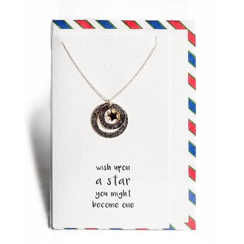 Star Wish Affirmation Necklace