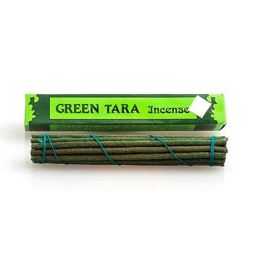 Tibetan Green Tara Incense: short