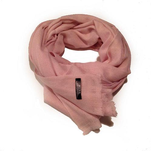 foulard en pashmina (rose)/ pashmina scarf (rose)