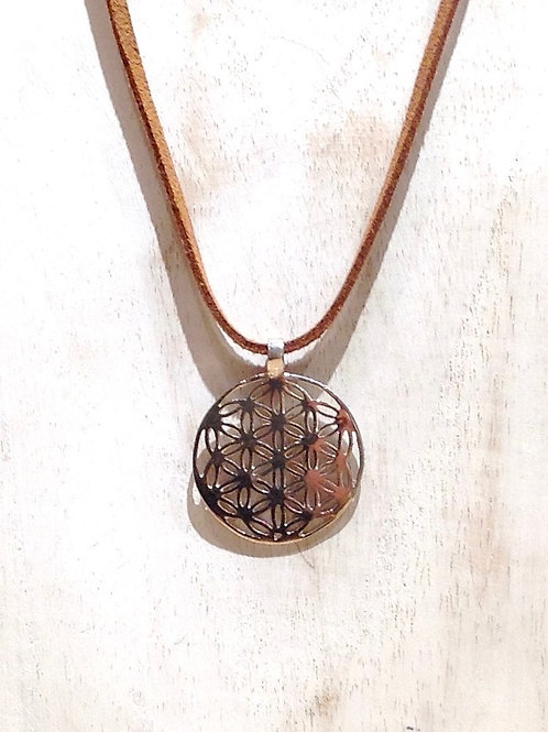 """Fleur de vie"" collier-""Flower of Life"" necklace"