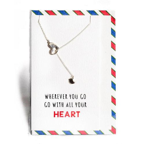 Heart Affirmation Necklace