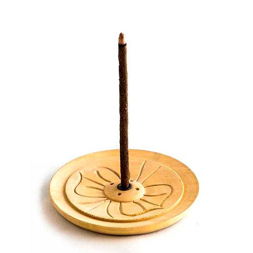 Wooden Lotus Incense holder