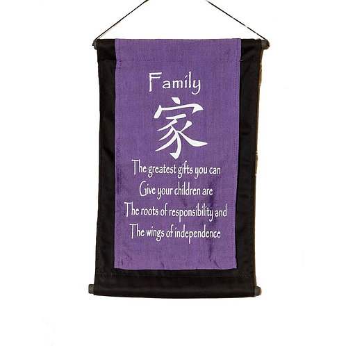 Family Wall-Hanging: Violet