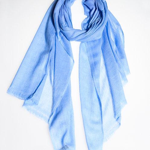 Pashmina scarf: Baby blue