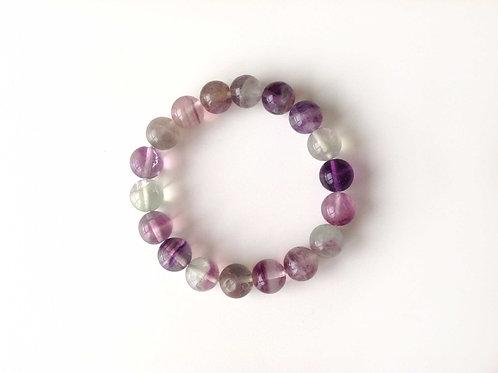Bracelet-mala (fluorite)