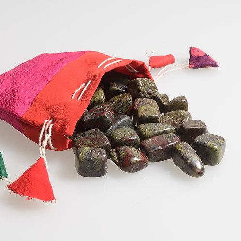 Tumbled Dragon blood Stone