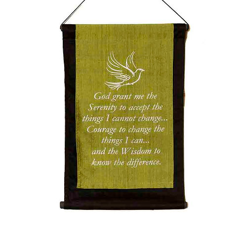 Serenity Wall-Hanging: Lime