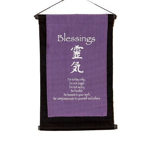 Blessings Wall-Hanging: Violet