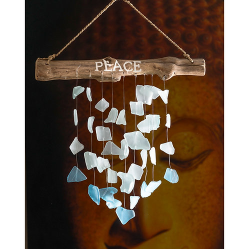 Peace Seaglass Chimes (small)