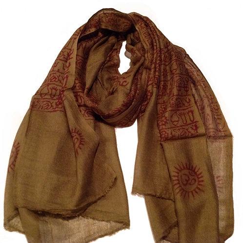 foulard deprières/prayer scarf 4