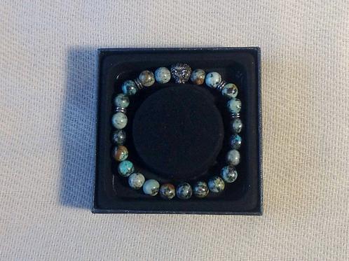 Bali Bracelet: Turquoise Africaine