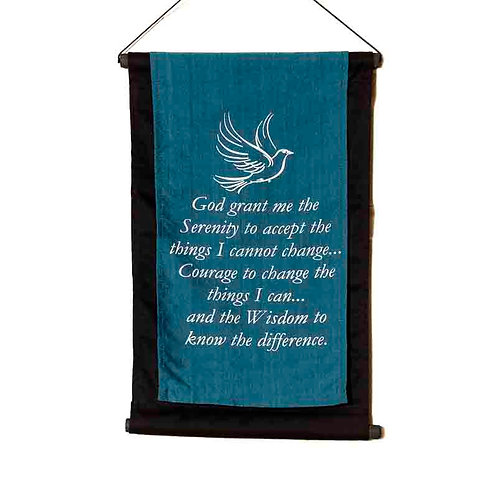 Serenity Wall-Hanging: Turquoise