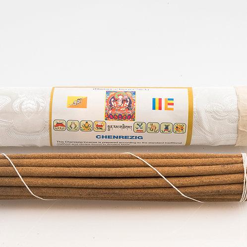 Bhutanese Chenrezig Incense: long