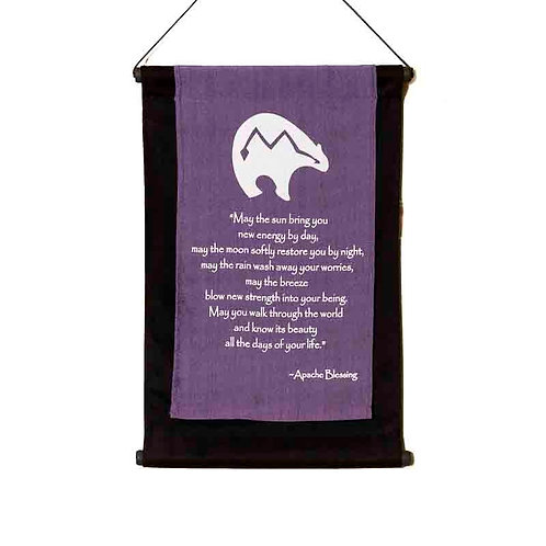 Apache Blessing Wall-Hanging: Violet
