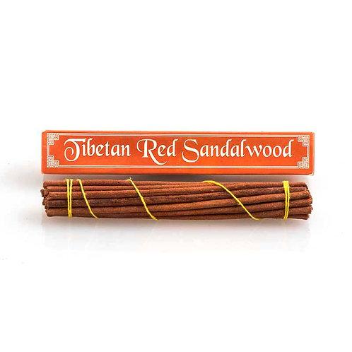 Tibetan Red Sandalwood Incense: short