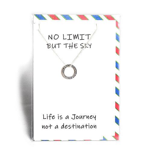 No Limit Affirmation Necklace