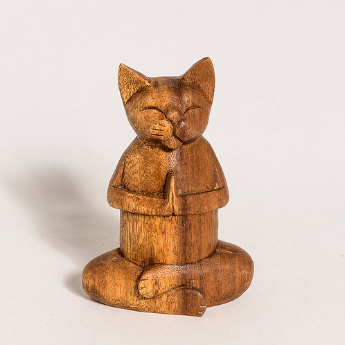 The Original Balinese Praying Cat (Medium)