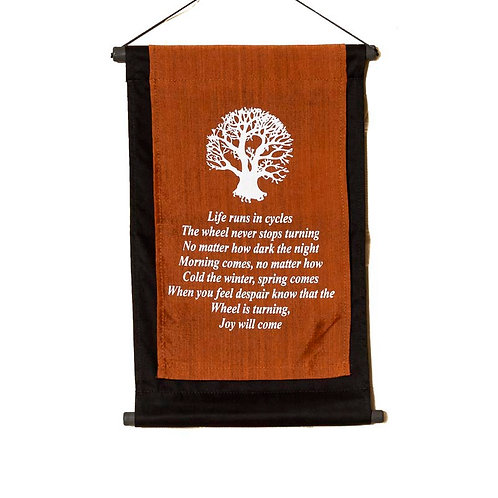 Cree Prophecy Wall-Hanging: Copper