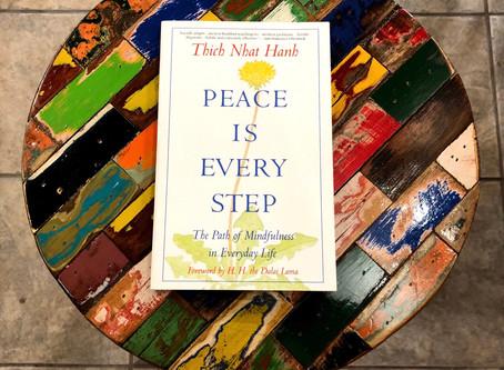 Sur la thème de la pleine conscience. On the theme of mindfulness.