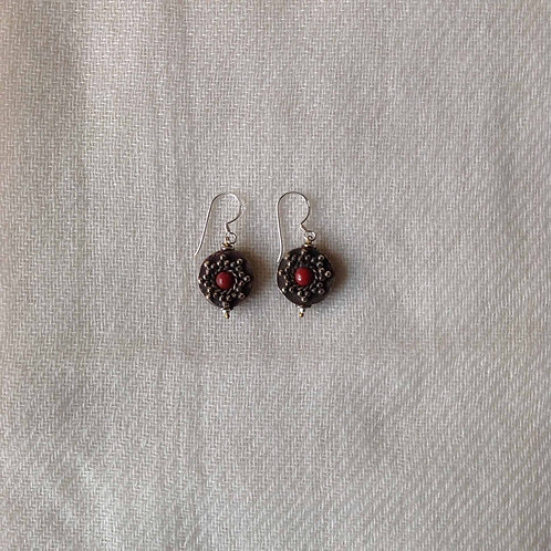 boucles d'oreilles tibétains/ tibetan earrings 10
