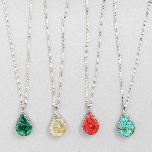 Crystal Tears Necklace A