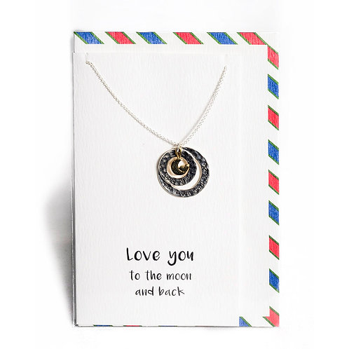Love You Affirmation Necklace