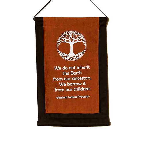 Inherit Wall-Hanging: Copper