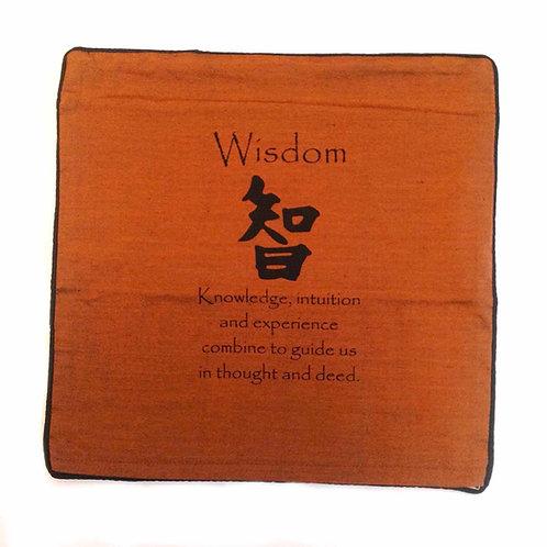 """Cushion Cover-n """"Wisdom"""""""