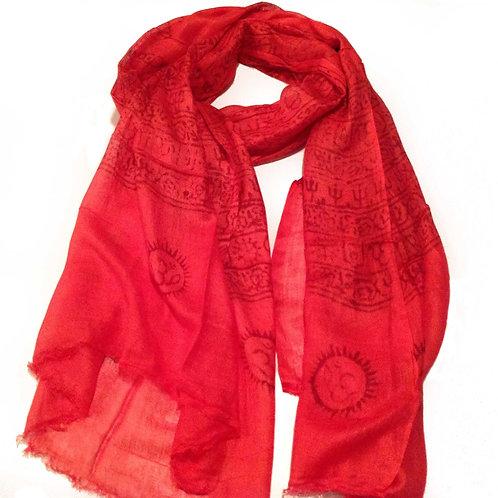 foulard deprières/prayer scarf 6