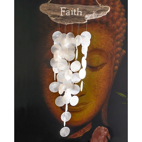 Faith Seashell Chimes