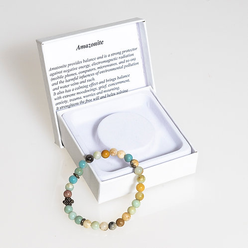 Amazonite Bracelet: Small