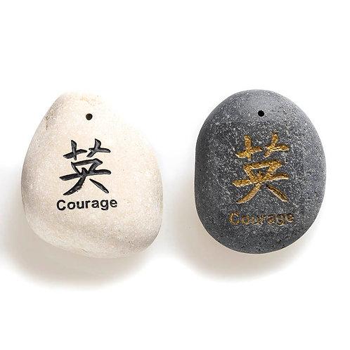 Large Wisdom stone: Courage
