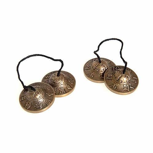 Tingsha: 7 metal meditation bells