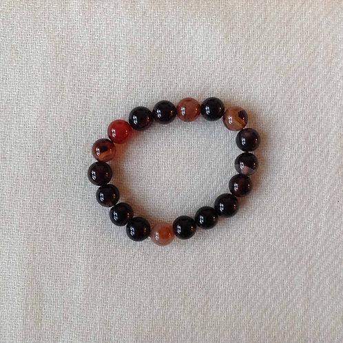 bracelet-mala (agate)